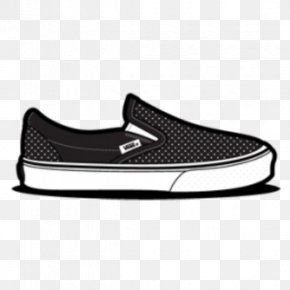 Cool Air Cliparts - Vans Slip-on Shoe Sneakers Clip Art PNG