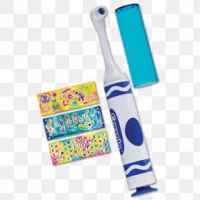 Toothbrush - Electric Toothbrush GUM Crayola Power Toothbrush GUM Crayola Marker Toothbrush Tooth Brushing PNG