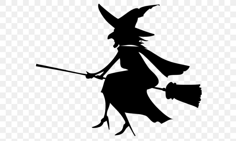 Halloween Witch Hat Png 600x488px Witchcraft Blackandwhite Halloween Magic Silhouette Download Free