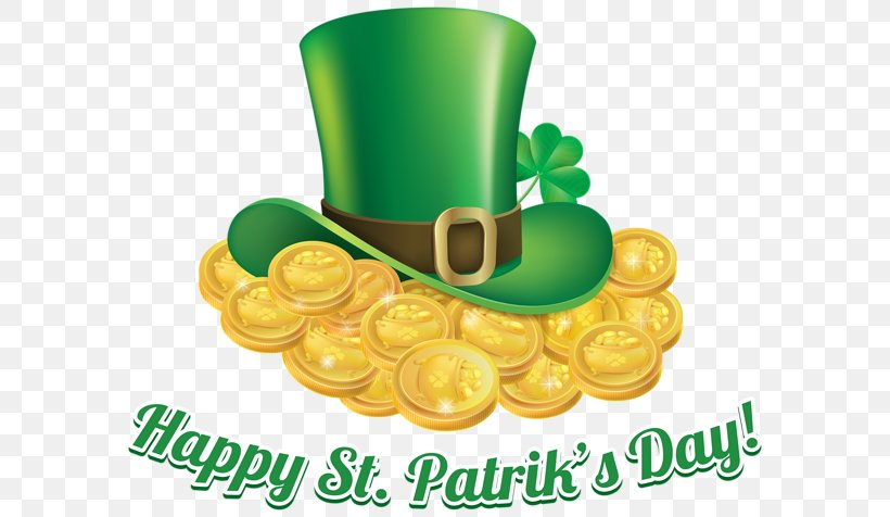 Saint Patrick's Day Ireland Shamrock Clip Art, PNG, 600x476px, 17 March, Ireland, Catholicism, Commodity, Gold Download Free