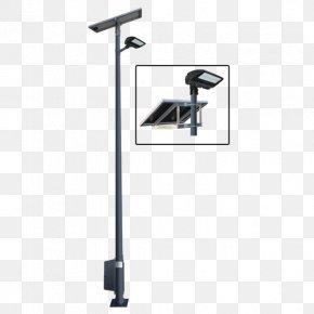 Streetlight - Light Fixture Lighting Solar Street Light Solar Lamp PNG