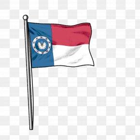 American Flag - Smith & Tinker Electric Blue Azure Cobalt Blue PNG