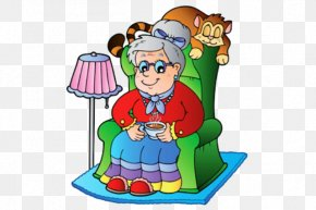 Clip Art Granny - Vector Graphics Clip Art Grandparent Image Illustration PNG