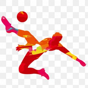Creative People Flag Football - 2016 Summer Olympics Opening Ceremony 2020 Summer Olympics Football Bicycle Kick PNG