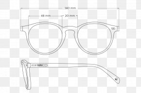 Cotton Fiber - Sunglasses Goggles White PNG