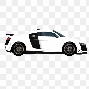 Side,white,car,Audi R8 - 2017 Audi R8 2014 Audi R8 Car PNG