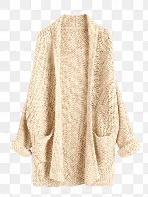 Dress - Cardigan Sleeve Sweater Dress Clothing PNG