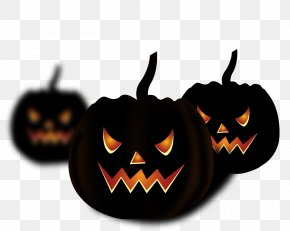 Lantern Pumpkin Horror Elements - Halloween Pumpkin Free Jack-o-lantern PNG