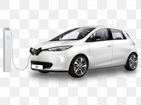 Renault Zoe - Renault Zoe Car Renault Scénic Electric Vehicle PNG