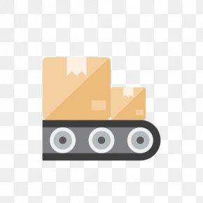 Belt - Conveyor Belt Conveyor System Logistics PNG