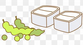 Boxes And Snow Peas - Snow Pea Bento Clip Art PNG
