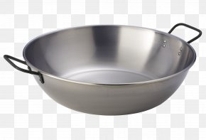 Barbecue - Wok Stainless Steel Barbecue Frying Pan PNG