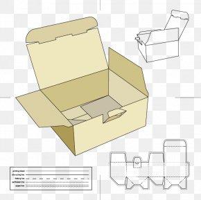 Carton Box Design Material - Paper Packaging And Labeling Box Net Carton PNG
