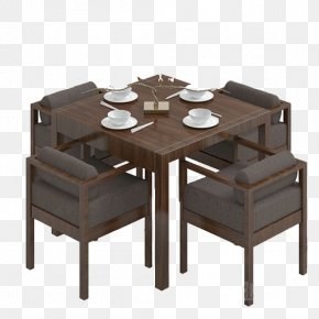 Table - Table Chair Seat Matbord Furniture PNG