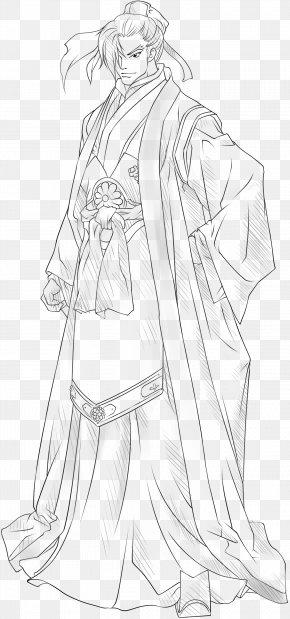 Costume Hand-painted Artwork - Cartoon Costume Drama Designer Sketch PNG