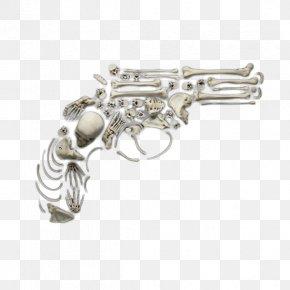 Pistol Skeleton Puzzle - Jigsaw Puzzle Revolver Human Skeleton Pistol PNG