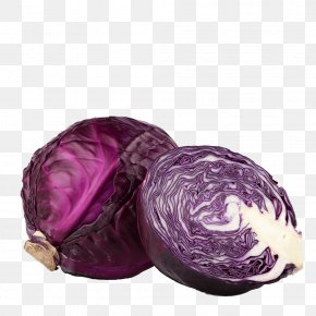 Cabbage - Red Cabbage Cauliflower Organic Food Vegetable PNG