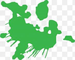 Splatter Cliparts - Paint Green Clip Art PNG