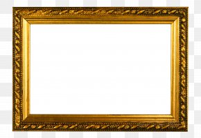 Golden Frame Wall Mount - Picture Frame Gold Frame Stock Photography Clip Art PNG