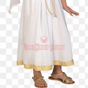 Aphrodite Goddess Costume - Halloween Costume Child Clothing Dress PNG