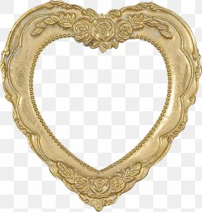 Love Frame - Heart Picture Frame Clip Art PNG