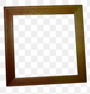 Pretty Brown Frame - Wood Stain Picture Frame Square, Inc. PNG