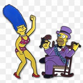 Bart Simpson - Homer Simpson Marge Simpson Mr. Burns Bart Simpson Lapel Pin PNG