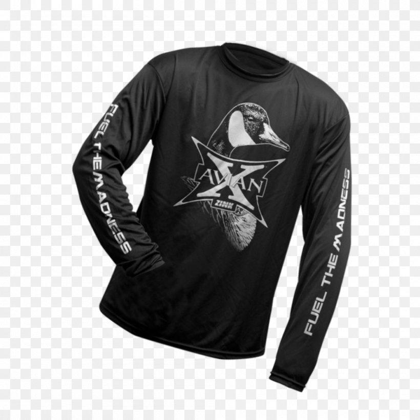 T-shirt Mallard Duck Waterfowl Hunting, PNG, 1000x1000px, Tshirt, Active Shirt, Black, Brand, Clothing Download Free