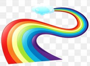 Rainbow Way Clipart - Rainbow Clip Art PNG