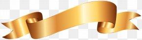 Gold Banner Clip Art Image - Diagram Clip Art PNG