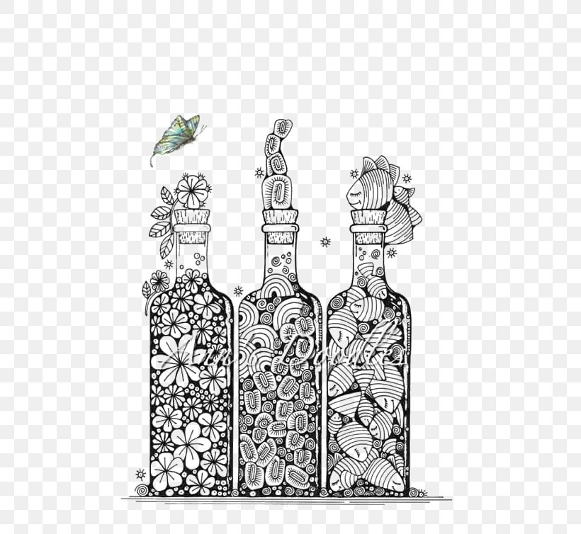 Bottle Drawing Doodle Art Png 552x754px Bottle Art Black And White Cartoon Designer Download Free