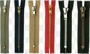 Zipper - Metal Zipper Coil Zipper Nylon PNG