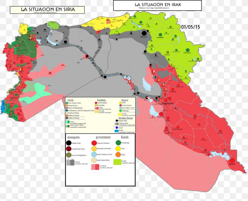 Syria Map Islamic State Of Iraq And The Levant Fallujah ...