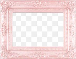 Pink Frame Border European Pattern - Pink Picture Frame PNG