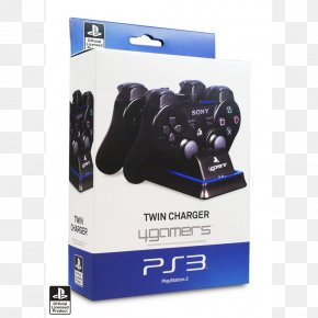 Joystick - Battery Charger Video Game Consoles Game Controllers PlayStation 3 Joystick PNG