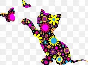 Kitten - Kitten Art Paint By Number Clip Art PNG