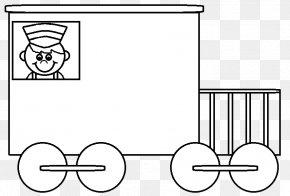 Trains Images - Train Rail Transport Passenger Car Caboose Clip Art PNG