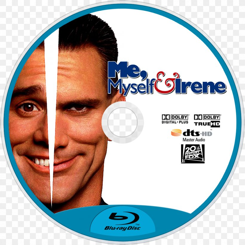 Me Myself Irene Jim Carrey Film Poster Actor Png 1000x1000px