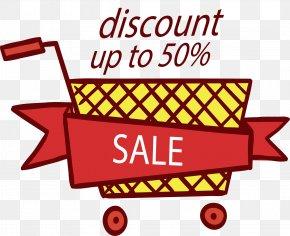 Grid Shopping Cart Discount - Shopping Cart Designer Clip Art PNG