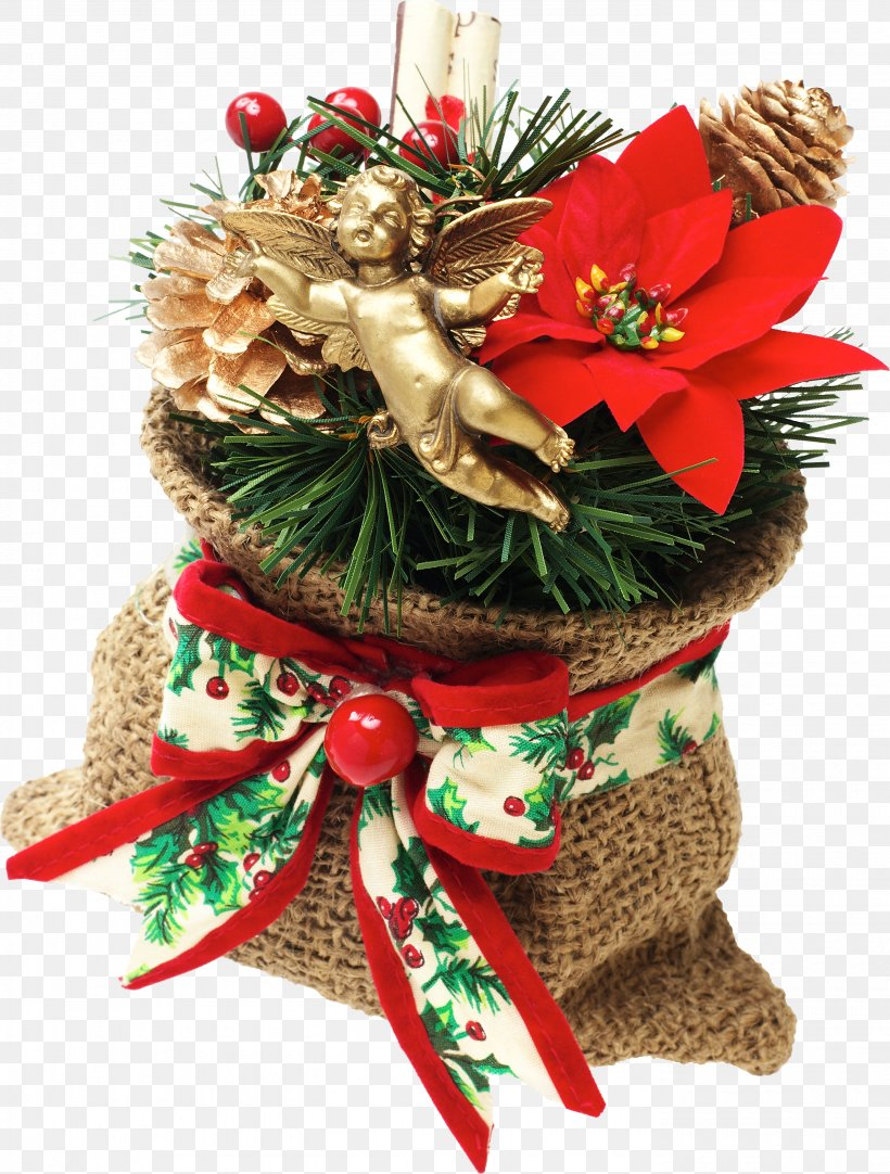 Christmas Ornament Gift Ded Moroz New Year, PNG, 2760x3644px, Christmas, Artificial Flower, Christmas Decoration, Christmas Gift, Christmas Giftbringer Download Free