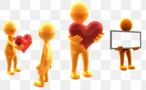 Team Work - Desktop Wallpaper 3D Computer Graphics Love Wallpaper PNG