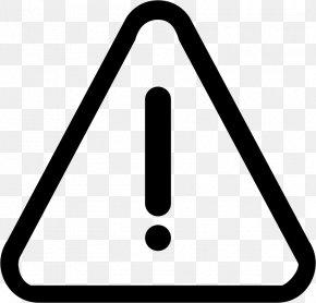 Warning Sign Font - Computer Font Warning Sign Font PNG