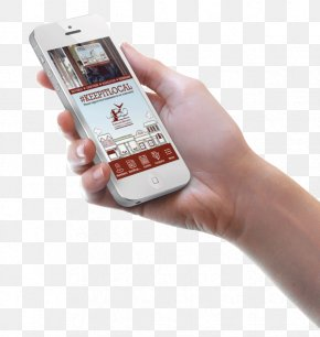 Creative Handheld Mobile Phone - Android User Interface Design IPhone PNG