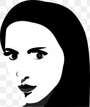 Portrait - Face Eye Contact Clip Art PNG