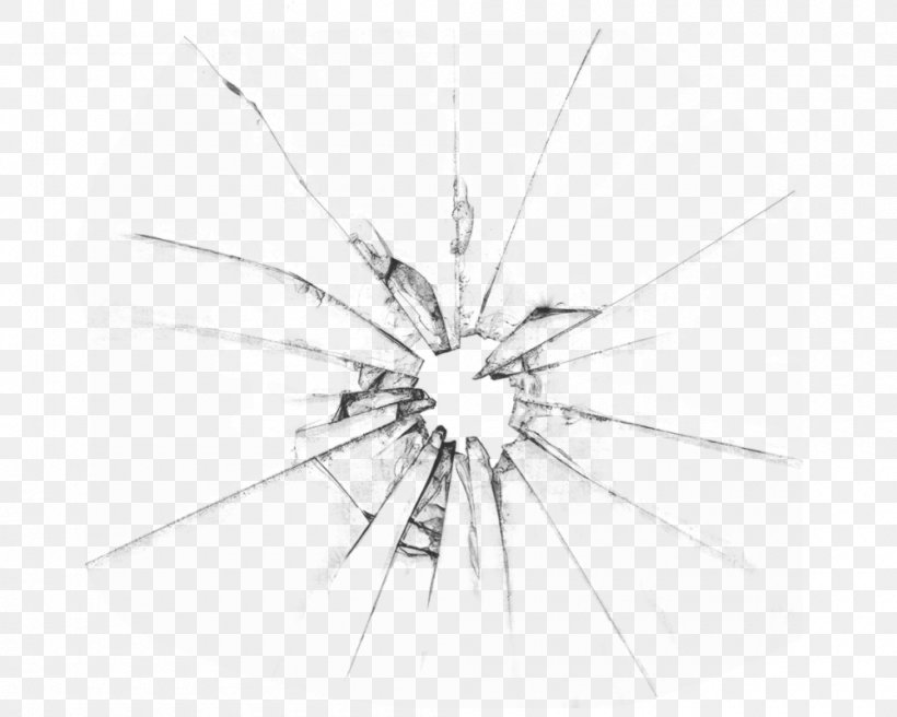 Broken Windows Theory Glass Drawing Glazing, PNG, 1000x800px, Window, Black, Black And White, Broken Windows Theory, Drawing Download Free