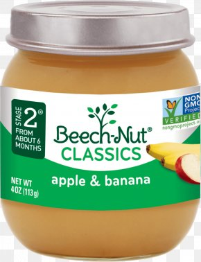 Apple - Baby Food Breakfast Cereal Beech-Nut Apple Asian Pear PNG