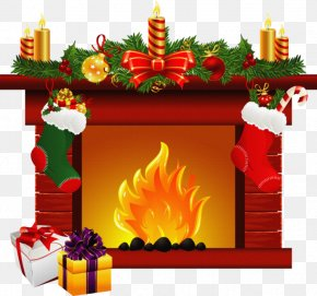 Christmas Tree - Clip Art Christmas Fireplace Openclipart Christmas Day PNG