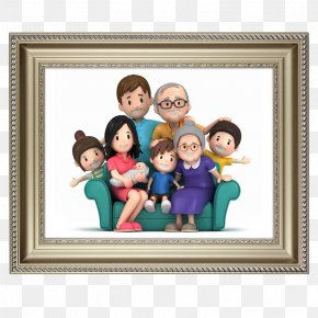 Solid Wood Large Picture Frame Family Wall - Family Thought Idea Sweet Sixteen PNG
