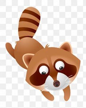 Cartoon Beaver - Raccoon Bear Dog Procyonidae Short Story PNG