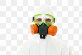 People Wearing Gas Mask - Bioterrorism Gas Mask Food Health Indoor Mold PNG